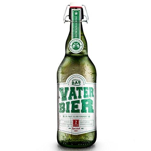 Vaterbier (1 x 2 Liter) Bügelflasche, Vater...