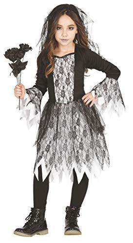 Guirca Düsteres Gothic-Brautkostüm für Mädchen...