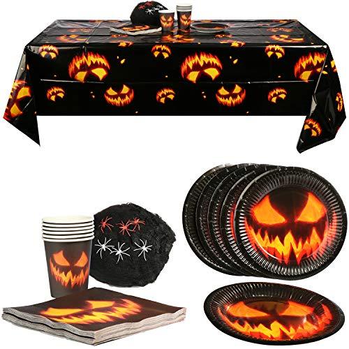 com-four® 32-teiliges Halloween Dekoset mit 100g...