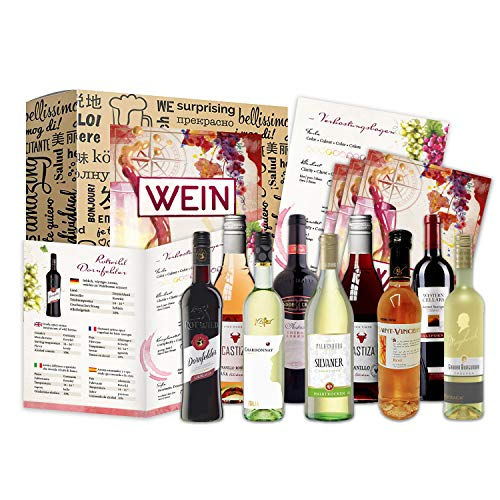 Wein Geschenk Set (9 x 0,25l)   besonderes...