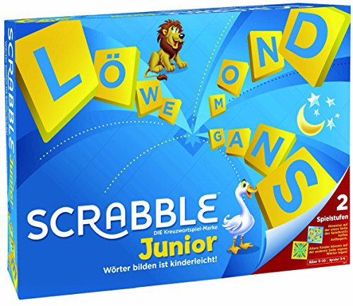 Mattel Games Y9670 - Scrabble Junior Wörterspiel...