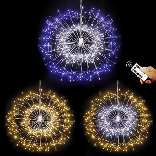 Wimaha LED Lichterkette mit 8 Modi Beleuchtungs...