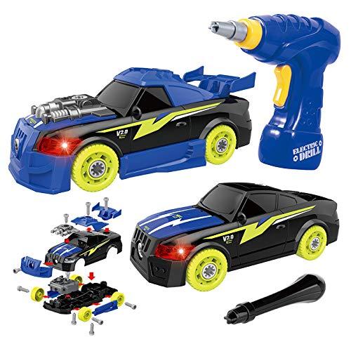 GILOBABY Montage Spielzeug Autos , Kinder DIY...