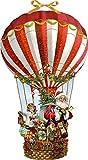 Wandkalender - Weihnachtsballon