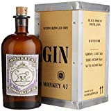 Monkey 47 Gin mit Holzkiste (1 x 0.5 l)