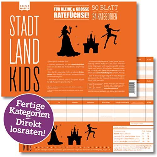 Stadt, Land, Kids | Lustiges Ratespiel mit 24...