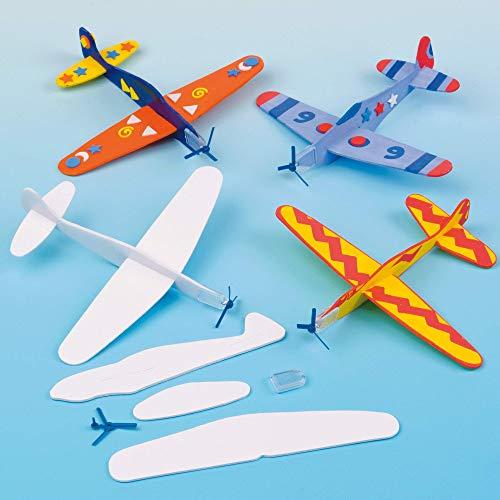 Baker Ross EV1813 Gleitflugzeuge zum Spielen für...