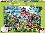 """Schmidt Kinderpuzzle """"Bei den Dinosauriern"""" (60 Teile)"""