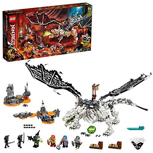 LEGO 71721 NINJAGO Drache des Totenkopfmagiers,...