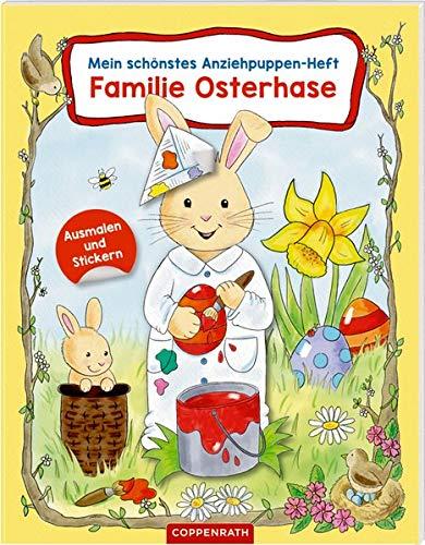 Mein schönstes Anziehpuppen-Heft: Familie...
