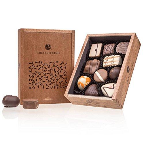 ChocoRoyal Mini - 10 Edle Pralinen | Premium...