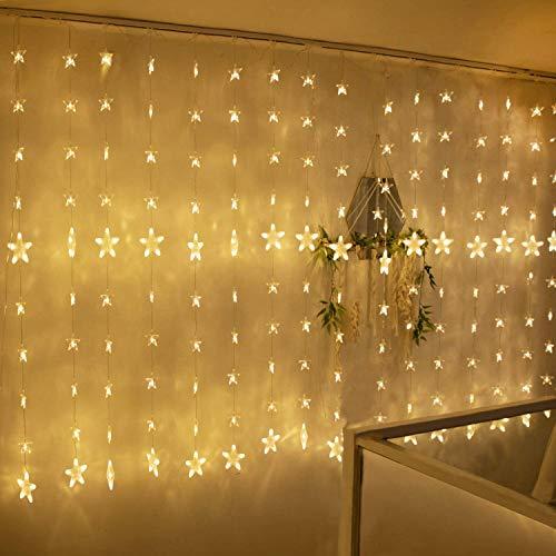 Led Lichterketten, 80 Sterne 144 Leds 2mx1.5m...