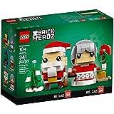 LEGO Herr und Frau Weihnachtsmann - Wünsche Frohe BrickHeadz™ Weihnachten – mit Herrn und Frau Weihnachtsmann!