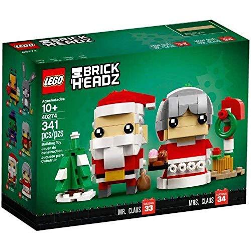 LEGO Herr und Frau Weihnachtsmann - Wünsche Frohe...