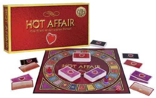 Orion 776491 Pärchen-Brettspiel 'A hot affair'