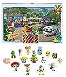 Mattel GKT88 Toy Story 4 Minis Adventskalender für Kinder mit exklusiver Spielzeugfigur ab 3 Jahren