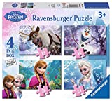 Ravensburger 07360 Frozen 4 Puzzle 12/16/20/24 Teile a box-12/16/20/24