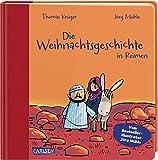 Die Weihnachtsgeschichte in Reimen: Pappbilderbuch ab 2 Jahren