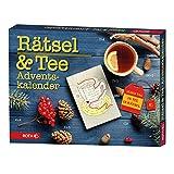 ROTH Rätsel + Tee-Adventskalender 2020 gefüllt mit hochwertigem Tee und Rätseln, Krimi + Teebeutel-Kalender für die Vorweihnachtszeit