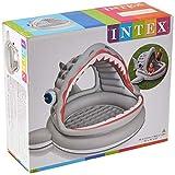 Intex Roarin' Shark Shade Pool - Kinder Aufstellpool - Planschbecken - 201 x 198 x 109 cm - Für 2+ Jahre