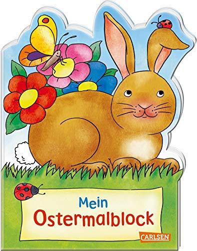Mein Oster-Malblock (Osterwiese): Lustige...