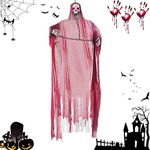 Haunted House Prop Décor,Horror Halloween...