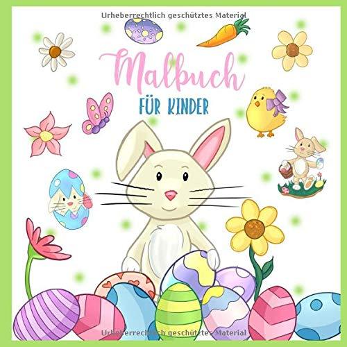 Malbuch für Kinder: Ostern Ausmalbuch für Kinder...