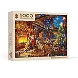 Mguotp 2020 Weihnachten Santa 1000 Stück Jigsa Puzzle Fordern Sie Sich mit Puzzles heraus