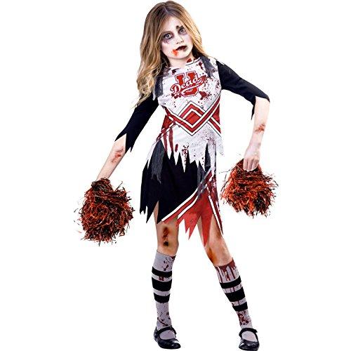 amscan 9902692 Zombie Girl Cheerleader-Kostüm,...