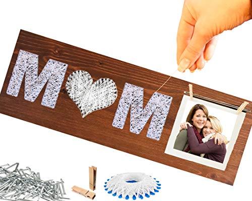 Geschenk Mama BASTELN ❤️ 100% HOLZ DEKO | DIY...