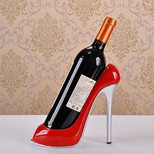 WINOMO High Heel Schuh Wein Flasche Halter Wein...