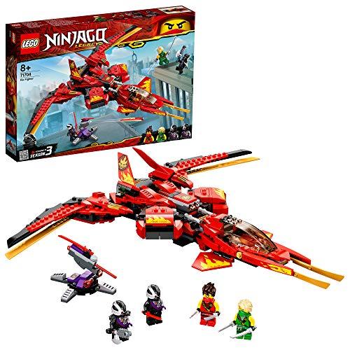 LEGO 71704 NINJAGO Legacy Kais Super-Jet Spielset...
