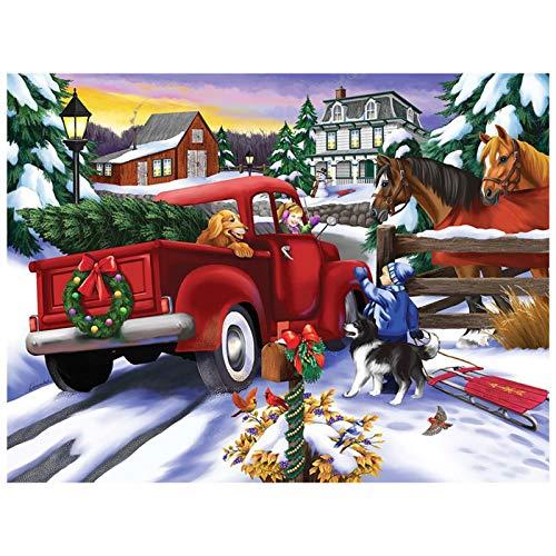 1000 Teile Weihnachtspuzzle Für Erwachsene,...