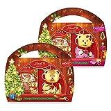 Lindt Teddy Malbuch, Ideales Weihnachts-Geschenk für Kinder, 8er Pack, (8 x 180 g)