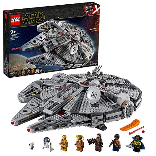 Lego 75257 Star Wars Millennium Falcon Raumschiff...