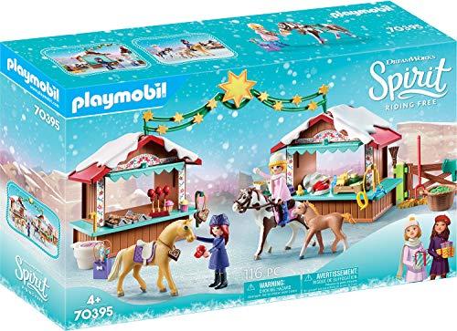 PLAYMOBIL DreamWorks Spirit 70395 Weihnachten in...
