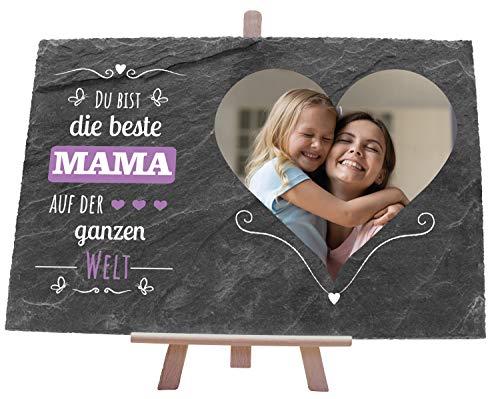 wandmotiv24 Schiefertafel Beste Mama,...