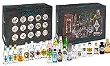 Gin Tonic Tasting Set - Mixcompany Adventskalender Tasting Box Probierset - 12x Verschiedene Gin Sorten + 12x Verschiedene Tonic Sorten - NEU