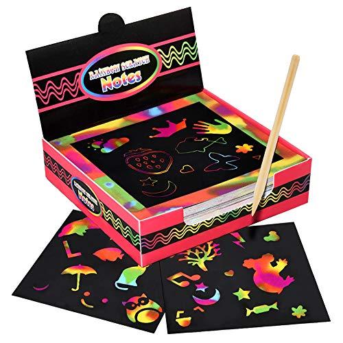 Dreamingbox Kratzbilder für Kinder, Mädchen...