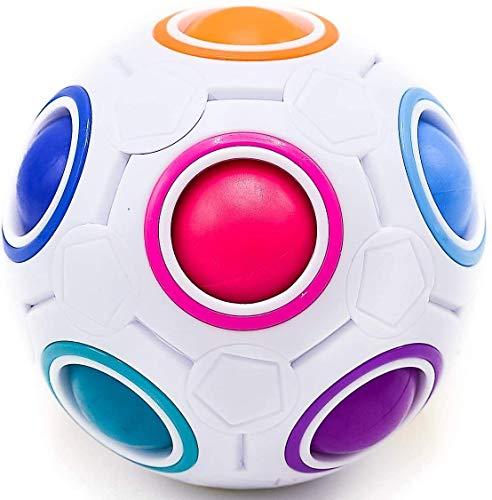 CUBIDI® Regenbogenball mit 11 Kugeln -...