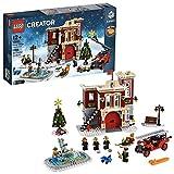 LEGO 10263 Creator Expert Winterliche Feuerwache, Bauset für Kleinkinder