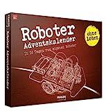 FRANZIS Roboter-Adventskalender 2020 | In 24 Schritten zum eigenen Roboter | ganz ohne Löten | Ab 10 Jahren