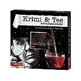 ROTH Krimi + Tee-Adventskalender 2020 gefüllt mit hochwertigen Teesorten und einem Krimi-Buch, Krimi + Teebeutel-Kalender für die Weihnachtszeit