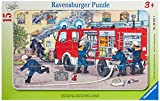 Ravensburger Kinderpuzzle 06321 - Mein Feuerwehrauto - Rahmenpuzzle