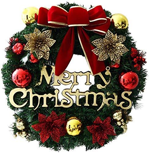CHEPL Weihnachtskranz Weihnachten Türkranz...