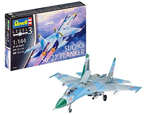 Revell Modellbausatz Flugzeug 1:144 - Suchoi Su-27...