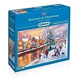 Gibsons Bourton zu Weihnachten Puzzle (500-pieces)