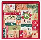 dm BIO Adventskalender 2020 - Advent Kalender mit Leckereien für Sie und Ihn, Knabber Kalender im Wert von 80 €, dmBIO, Schokolade
