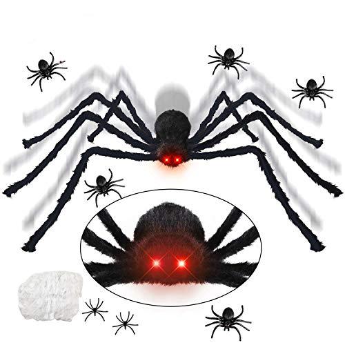 KOHMUI Halloween Deko, Halloween Spinne Deko...