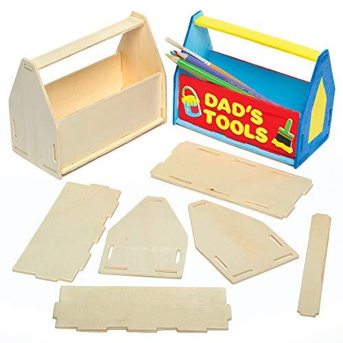 Baker Ross AG798 Holz-Werkzeugkiste zum...
